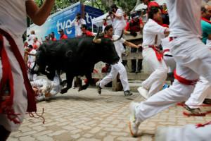Fiesta De San Fermin Running Of The Bulls - Day 8 ...